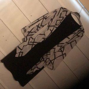 Dress - Black Symmetric